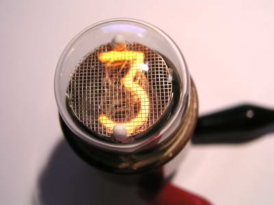 IN-1 - Middle size end-view nixie tube