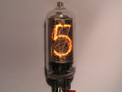 IN-8 - Middle size nixie tube