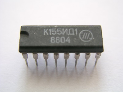 K155ID1 - High voltage driver IC