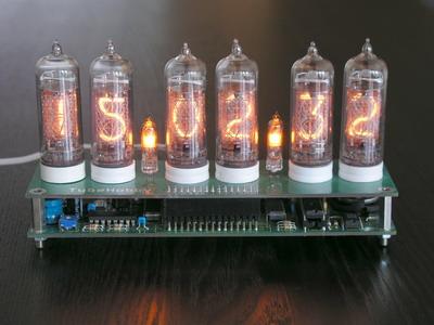 NCV2 1-14 - Nixie clock kit with IN-14 nixie tubes